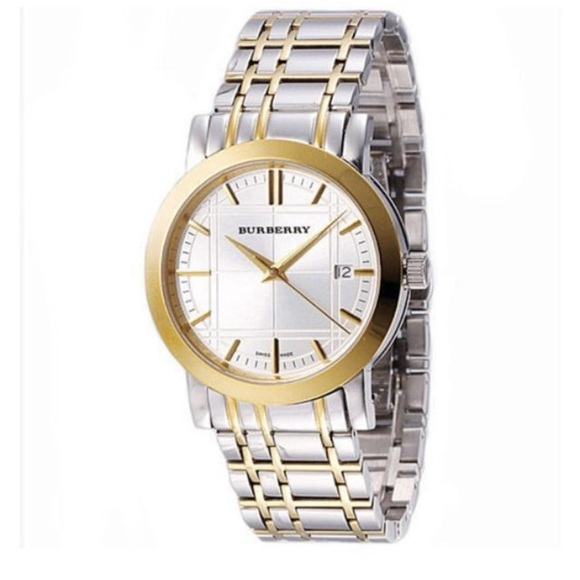 Burberry Accessories - Burberry Two tone watch